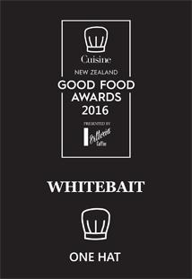 good food awards whitebait